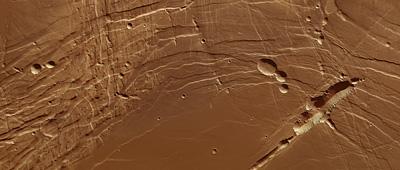 Phoenicis Lacus on Mars