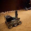 Mars terrain simulator of the Mars500 facility