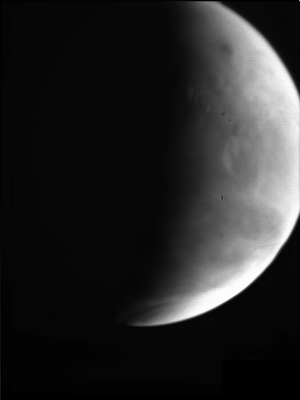 ESA: First image of Mars volcanoes 23 Mar 2007
