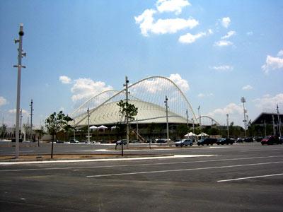 Nouveau Stade olympique Jeux 2004 à Athènes. (crédit : ESA)