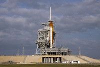 Space Shuttle <i>Endeavour</i> waiting