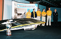 Winners of the World Solar Challenge 2001