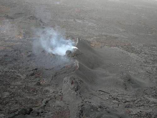 volcanes desde el espacio