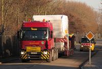 AMS  arrives at ESTEC