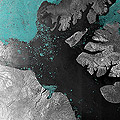 ASAR image of the Northwest Passage