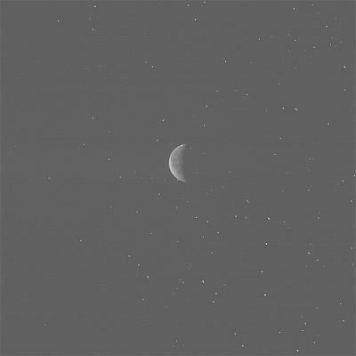 La Luna fotografiada por la sonda Rosetta