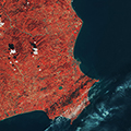 Crotone as seen by Sentinel-2B
