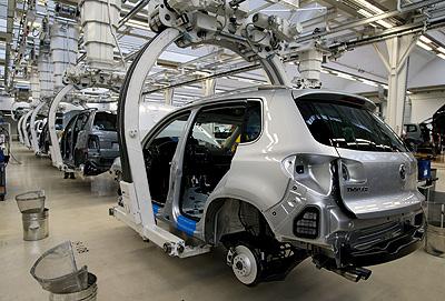 Завод Volkswagen в России