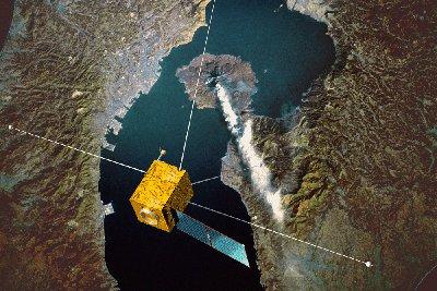 Si les séismes perturbent l'ionosphère, Demeter sera aux premières loges (crédit : CNES)