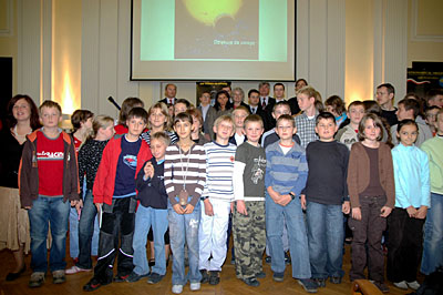 The next 50 years of space - Polish children present their ideas