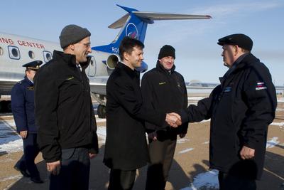 Arrival to Baikonur