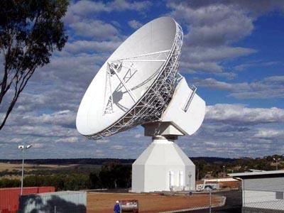 ESTRACK 35 m deep space antenna, New Norcia, Australia Credit: ESA