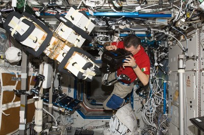 ESA's 3D video camera onboard the ISS