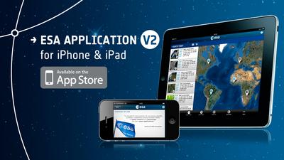 Applicazione ESA per iPhone e iPad