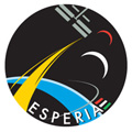 European Space Agency Esperia Mission logo for Paolo Nespoli. ESA PHOTO NO: SEMSAMB474F