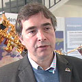 John Burrows, director of the Institute of Remote Sensing / Environmental Physics, who conceived the SCIAMACHY instrument.