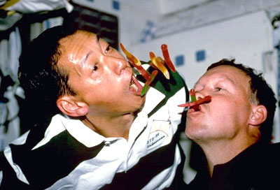 what food astronauts eat in space - photo #35