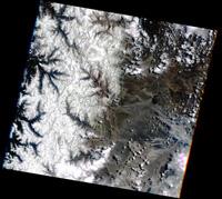 Les Andes au mois de novembre