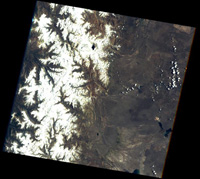 Andes in December