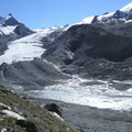 The Findelen Glacier, east of Zermatt (Switzerland) in 2010