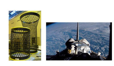 GRID/Lattice Structures (EADS CASA) - SOLAR and EuTEF in STS 122