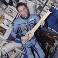 ESA astronaut Thomas Reiter on Mir