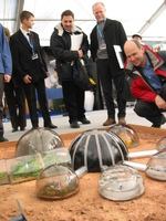 Martian base built by Bulgarian students