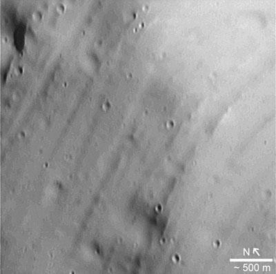 Details of PhobosÆs surface
