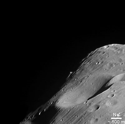 Close-up on Phobos