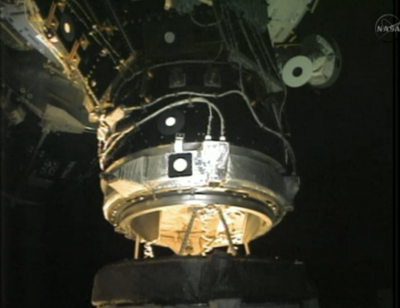 Endeavour docking ISS