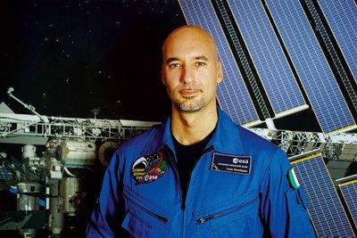 L'astronauta Luca Parmitano