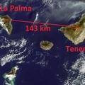 La teletransportación cuántica podrá enviar información a la velocidad de la luz. LaPalma-Tenerife_small,1