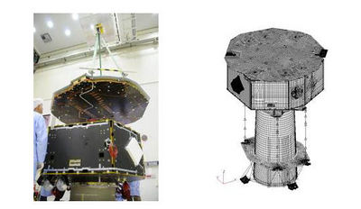 LISA Pathfinder Science Module and Analysis model
