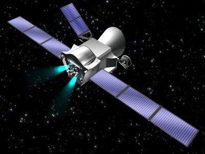 Artist's impression of the Mercury Composite Spacecraft during t
