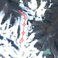 Measurement of glacier length