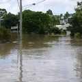 Flood waters in Queensland