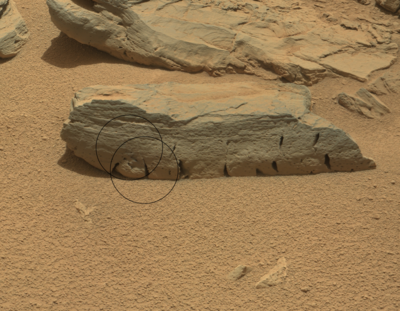 ESA's Mars Express relays Rocknest3 images from NASA Curiosity