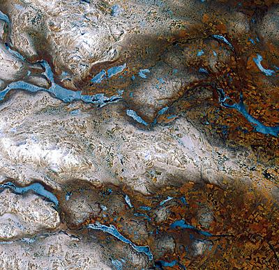 La tierra desde el cielo: El norte de Suecia