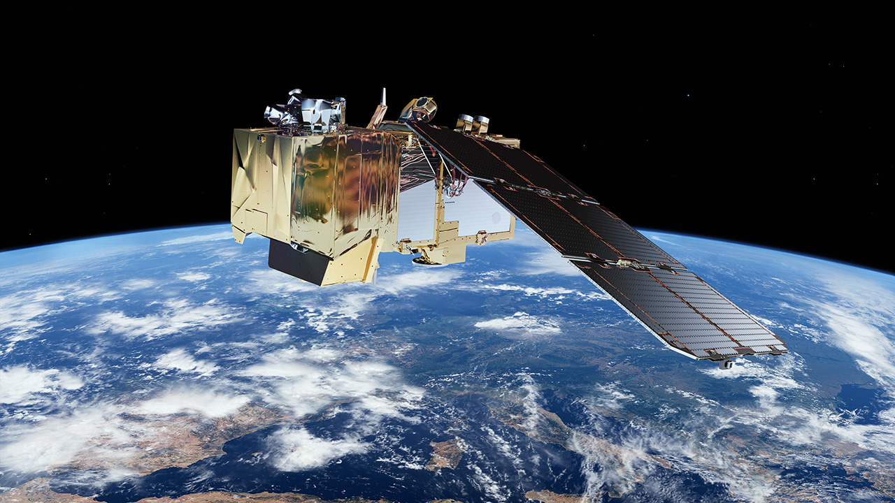 Esa space for kids earth sentinel satellites to for Stand 2 b