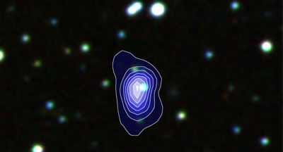 X-ray image of the nova nobody saw