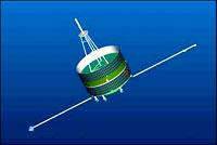 Tan CE 1 en vol, crédits: ESA