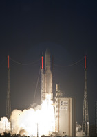 Ariane 5 flight V199 liftoff