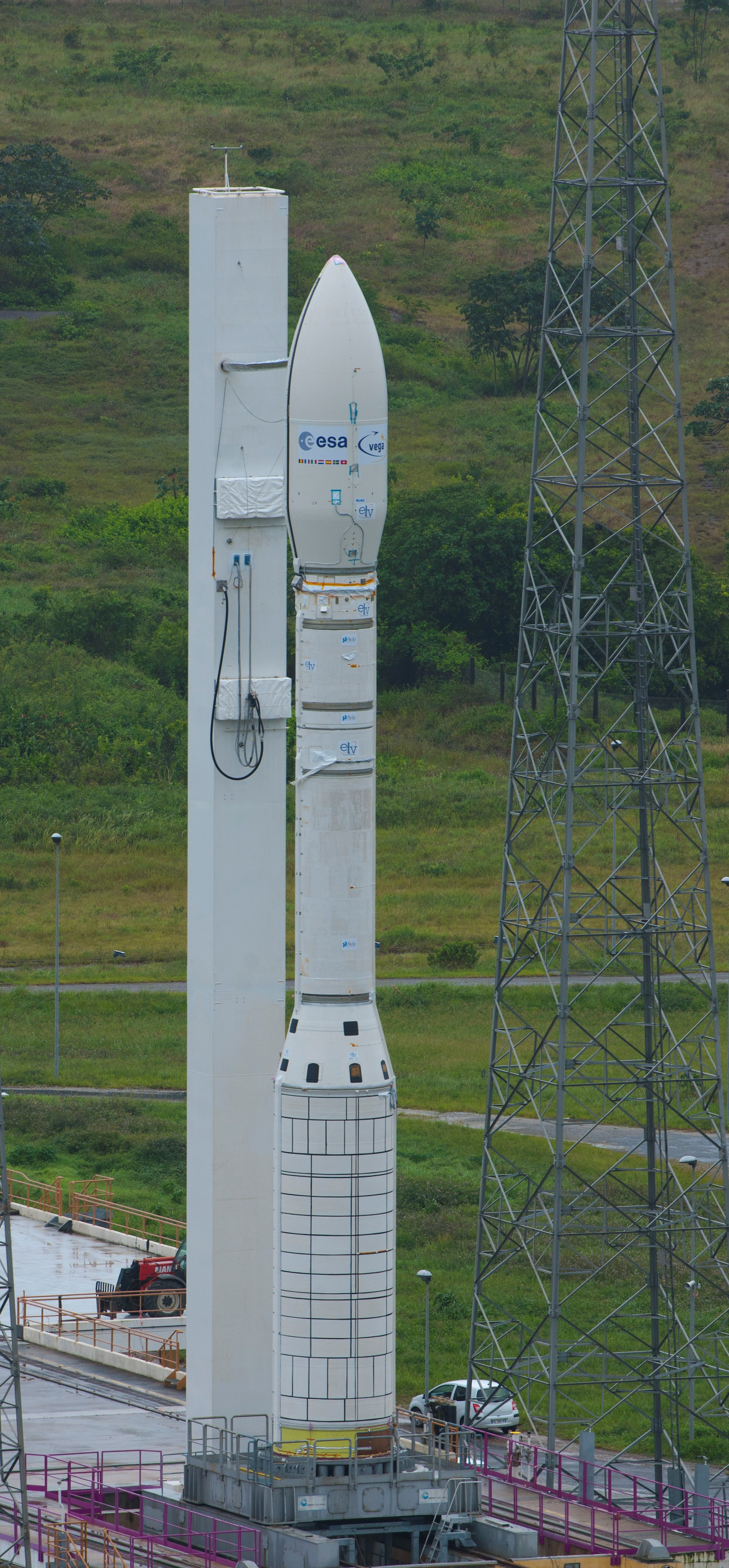 Maiden flight for ESA's Vega rocket tonight