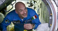 Luca Parmitano arrives at Space Station