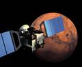 Mars Express over mars