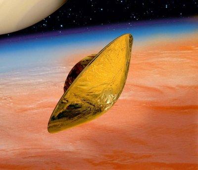 La descente vers Titan