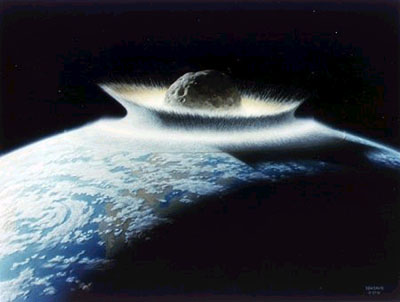 asteroid impact with the Earth