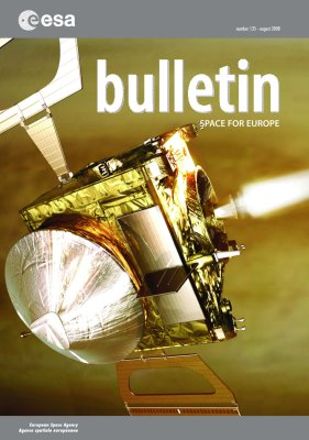 ESA bulletin Bul135_cover_l,0