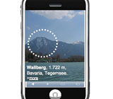 eyePhone, regional winner in European sat-nav competition