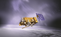 MetOp satellite artists impression